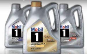 Гидрокрекинговое масло мобил