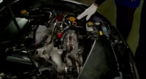 проверка значения масла в автоматической системе переключения передач