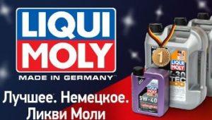 Range of oils Liqui Moly Synthoil