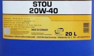 Масло 20W40: расшифровка