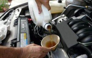 Минеральные масла для автомобилей