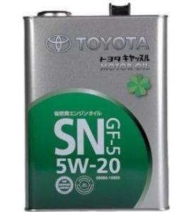 Свойства и характеристики моторного масла 5W20
