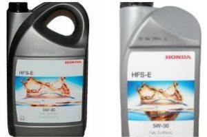 Характеристика синтетики Honda 5W30