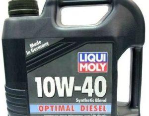 auto oil Optimal Diesel Liqui Moly characteristics