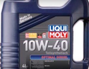 Optimal Diesel Liqui Moly engine oil