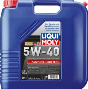 Моторные масла Liqui Moly Synthoil High Tech 5W40