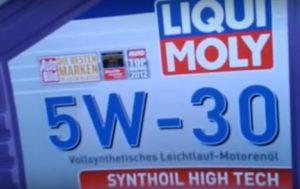 Liqui Moly Synthoil High Tech 5w30