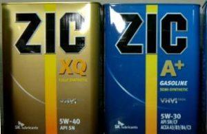 Моторные масла ZIC 10w-40