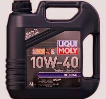 Моторное масло Optimal Benzin Liqui Moly