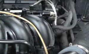 Масло попало в двигатель