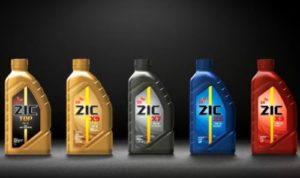 моторное масло ZIC от SK Lubricants