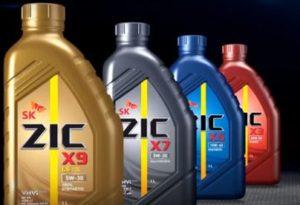 SK Lubricants, моторное масло ZIC