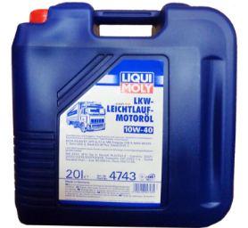 Моторное масло LKW-Leichtlauf-Motoroil Basic Liqui Moly