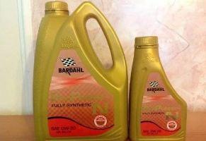 Моторное масло Бардаль, Bardahl