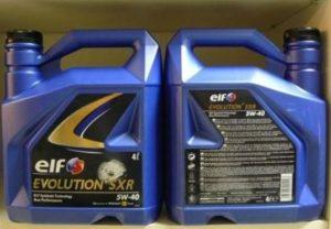 Моторное масло Elf Evolution SXR 5W40