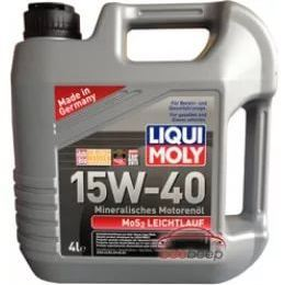 MoS2 15W40 from Liqui Moly