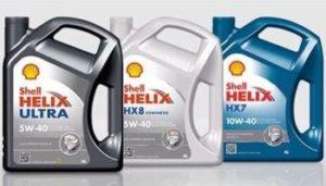 Моторное масло Shell Helix, характеристики