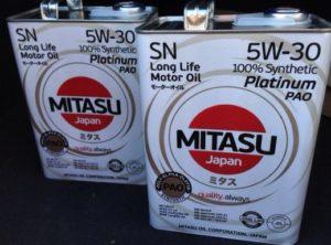 масло Mitasu Platinum