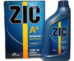 Обзор линейки полусинтетического масла Zic 10W40
