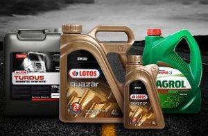 Польское моторное масло Лотос