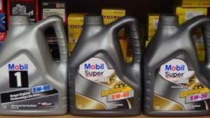 характеристики моторного масла Мобил