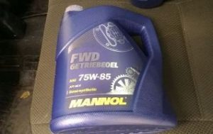 Трансмиссионное масло MANNOL 75W85 (Маннол)