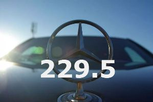 Допуск 229.5 Mercedes-Benz