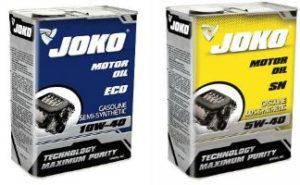 Моторное масло JOKO (YOKO)