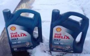 Моторное масло для зимы
