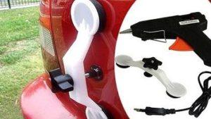 Pops-a-Dent для удаления вмятин на автомобиле