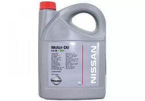 моторное масло Ниссан 5W30