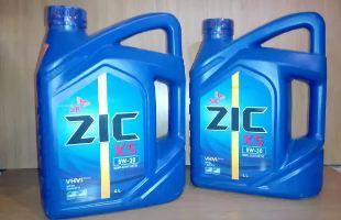 Моторное масло ZIC X5 5W30, описание и характеристики