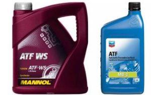 Трансмиссионное масло ATF фото