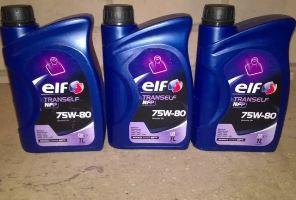 Трансмиссионное масло Эльф, ELF фото