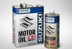 Моторное масло Suzuki фото
