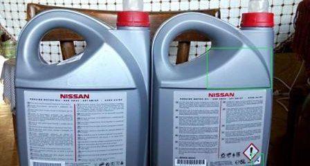 Как отличить подделку масла Nissan