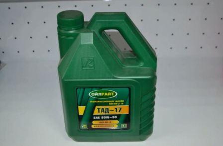 Характеристики масла ТАД-17, применение, совместимость, фото