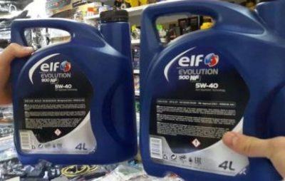 Как отличить подделку масла Elf, фото