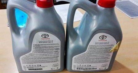 Как отличить подделку масла Тойота