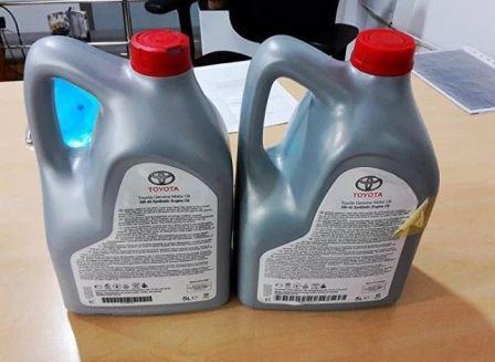 Как отличить подделку масла Тойота, фото