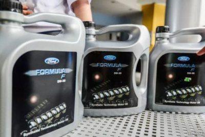 Подделка масла Форд, фото