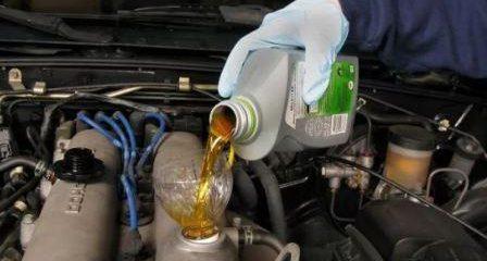 Вязкость масла для двигателей с пробегом