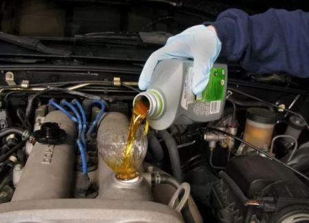 Вязкость масла для двигателей с пробегом, фото