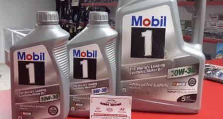 Вязкость масла Mobil 1