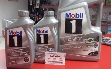 Вязкость масла Mobil 1, фото