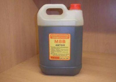 Технические характеристики масла М8В