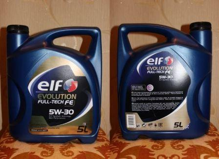 Elf Evolution Full-Tech FE 5w30, характеристики