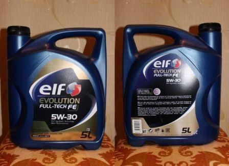 Elf Evolution Full-Tech FE 5w30, характеристики