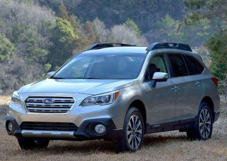 Subaru Outback 5 поколения