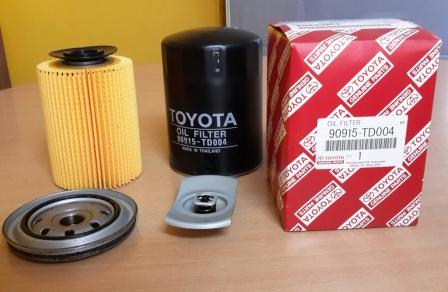 Масляный фильтр для Тойота
